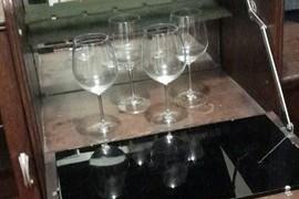Gorgeous golden oldie drinks cabinet