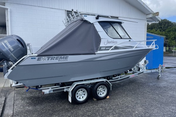 Motor boat on trailer Extreme 645 Game King