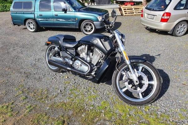Motorcycle Harley Davison Vrod