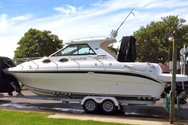 Trailer Boat, Haines Signature 770