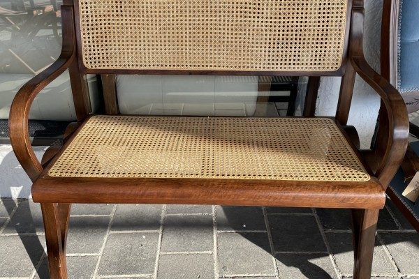 2 seater bench chair
