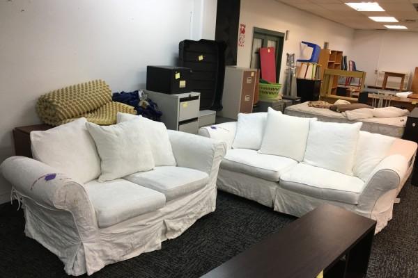 3 x seater sofa, 2xseater sofa