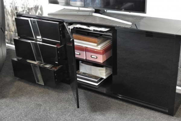 Lacquer-finish Buffet, Lacquer-finish Lamp Table