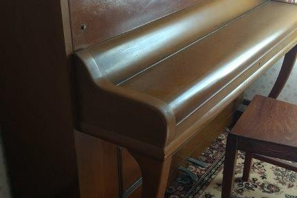 Haake - upright piano