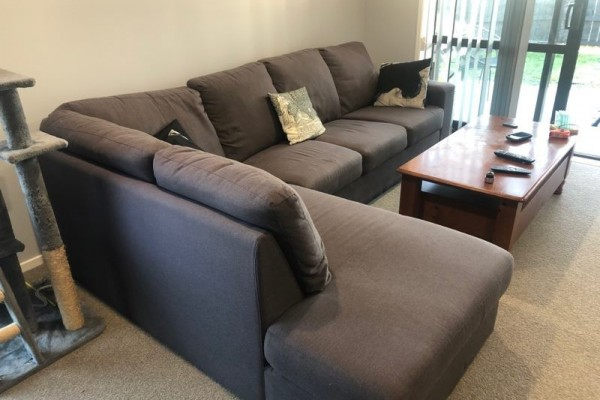 Used grey couch