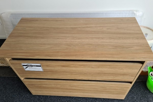 Vanity 2 Drawer Wall to Wall From Cambridge to Auckland