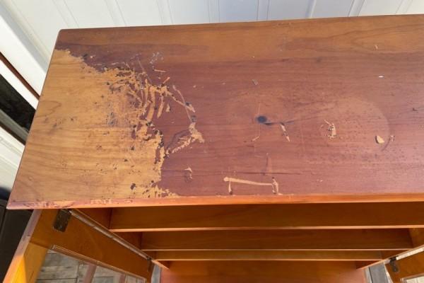 Wooden Hutch Dresser