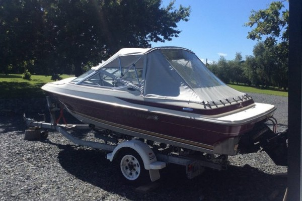 Motor boat Bayliner - Maxum 17
