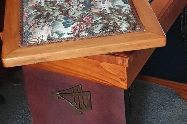Haake Hannover piano - upright with piano stool