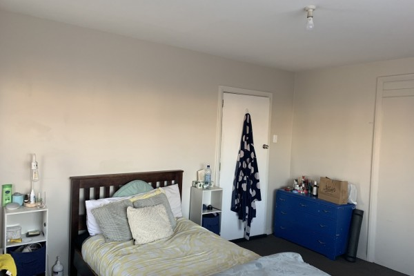 King single bed and frame, Dresser