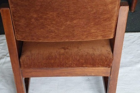 Solid wood , mid century chairs