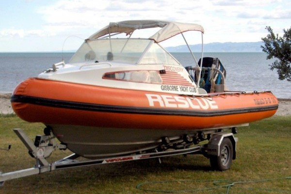1995 Naiad 5.8 Offshore Rigid Inflatable Boat
