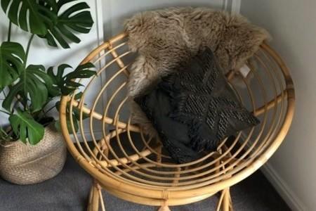 Beautiful papasan chair