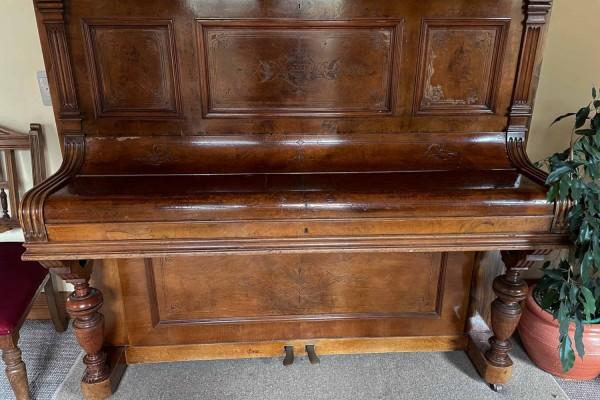 Vintage wooden piano