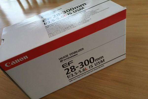 Canon 28mm-300mm F3.5-f5.6 USM