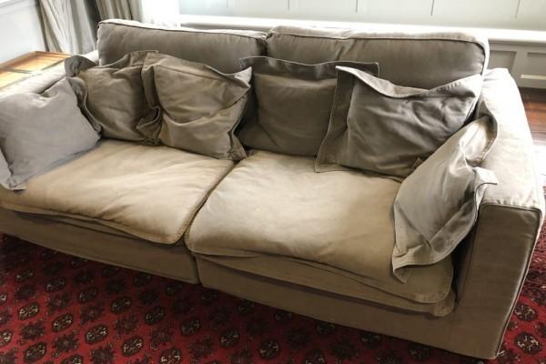 6 piece modular lounge suite