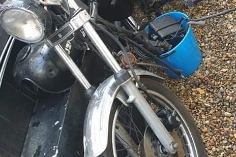 Motorcycle Suzuki GN125