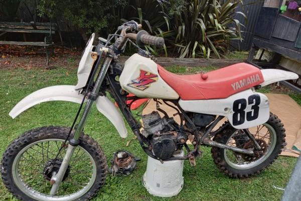 Motorcycle Yamaha YZ80