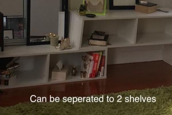 King Single mattress, King single base, small desk, office chair, shel...