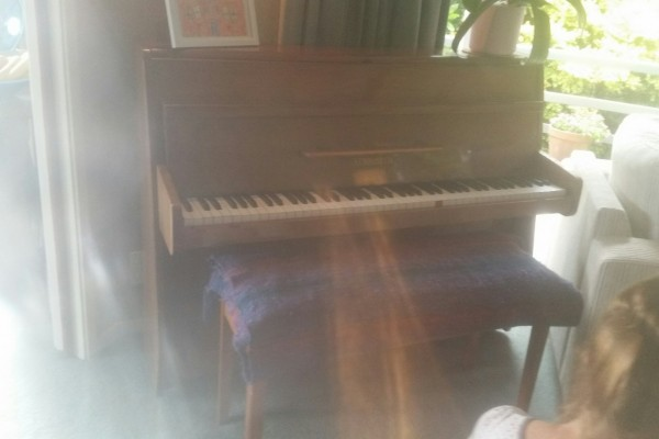 Small learners piano - Strohbech