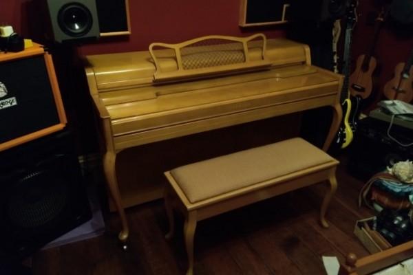 1975 Yamaha Spinet piano