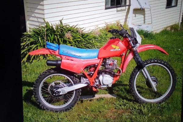 Motorcycle Honda Xr200