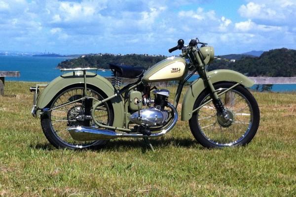Motorcycle BSA Bantam D1