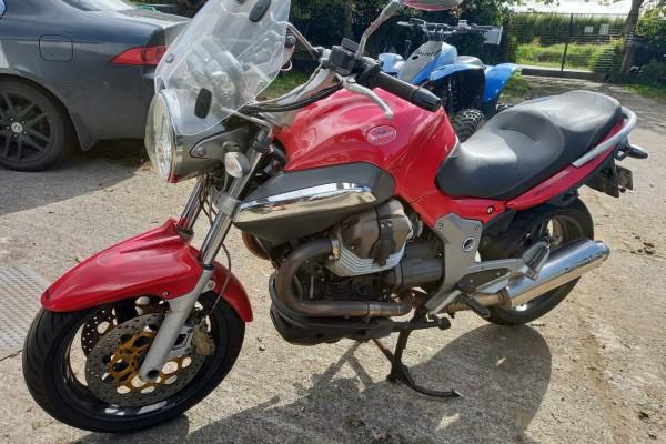 Motorcycle Moto Guzzi Breva 1100 2009
