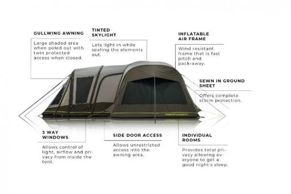 Tent  parts, tent