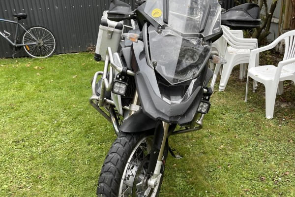 Motorcycle BMW GS1200