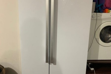 Beko 635 L Double Door Fridge Freezer White