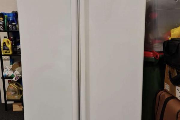 One large double door Fridge