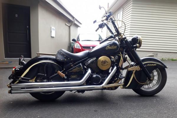 Motorcycle Kawasaki Vulcan 800