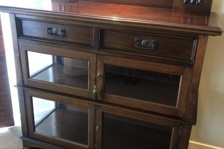 Art Nouveau China Cabinet