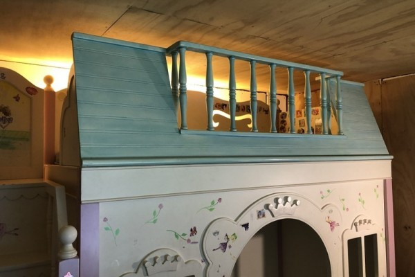 Princess Bunk Bed Solid Wood & Handcrafted