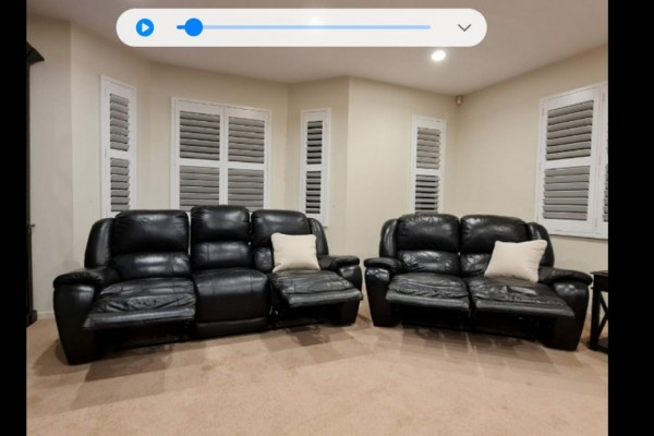 3 seater leather recliner sofa, 2 seater leather recliner sofa