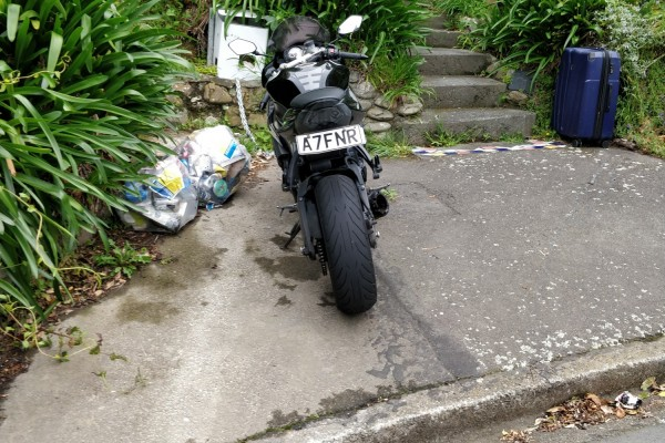 Motorcycle Kawasaki Zx6r