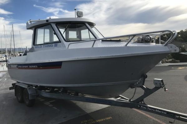 6.6m AMF hardtop trailer boat