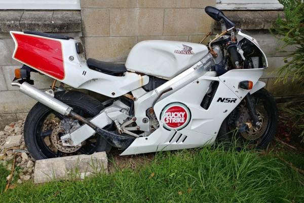 Motorcycle Honda NSR250R 1991