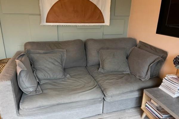 Early Settler slouch corner modular sofa