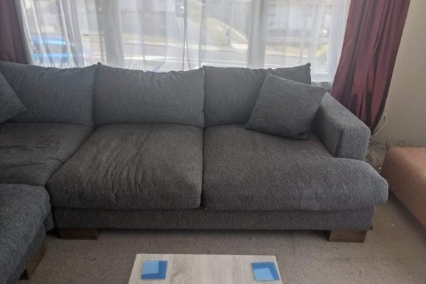 Large L Shape Couch - Collection & Delivery within Wellington