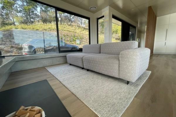 Forma furniture NZ made Sak sofa - RRP $4700 MUST GO $1 RES