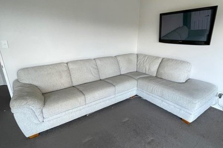 Oatmeal Couch
