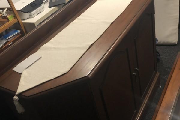 Arm chair, Arm chair, Side board